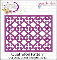 ODBD Custom die, Quatrefoil Pattern