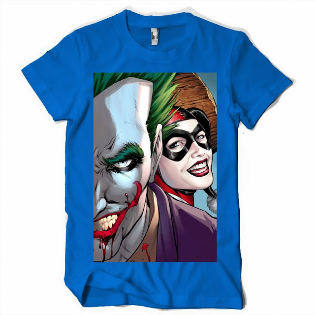 dc comics tshirt