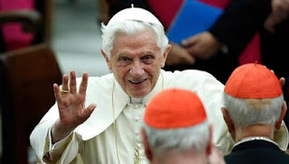 Pope Benedict XVI announced on Monday he would resign on Feb 28 as leader of the world's 1.1 billion Catholics, citing his age and health