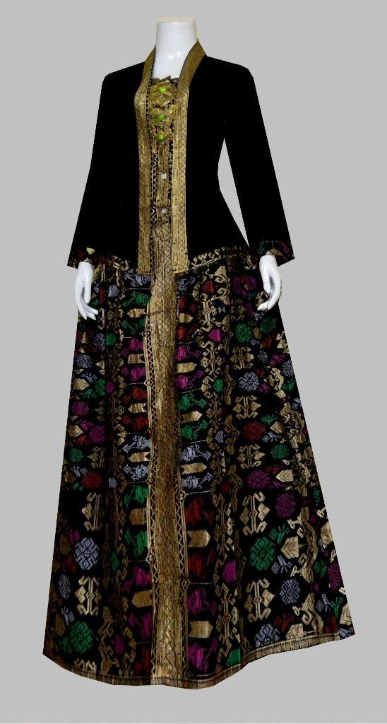 Model Baju Gamis Batik Terbaru Batik Bagoes Solo
