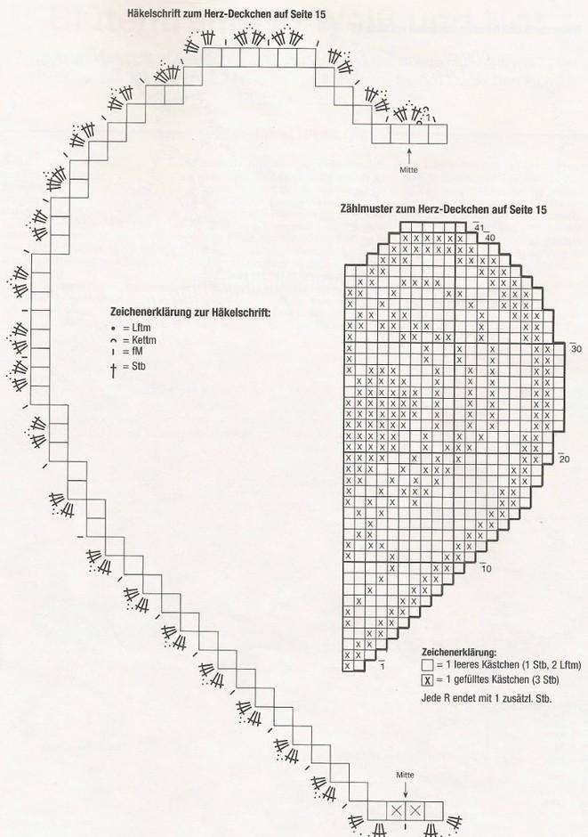 Toalhinha coração
