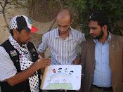 Lukisan anak-anak Malaysia ke Gaza