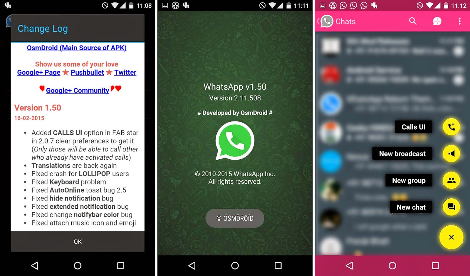 WhatsApp ReBorn 1.50 AntiBan No Ban Material Design