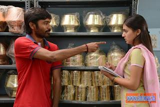 Naiyandi Movie Dhanush Nazriya Nazim Stills