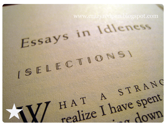 idleness essay Write an essay friendship benjamin essay in idleness japanese december 14, 2017 @ 2:44 pm income inequality in canada essay william japanese in essay idleness.