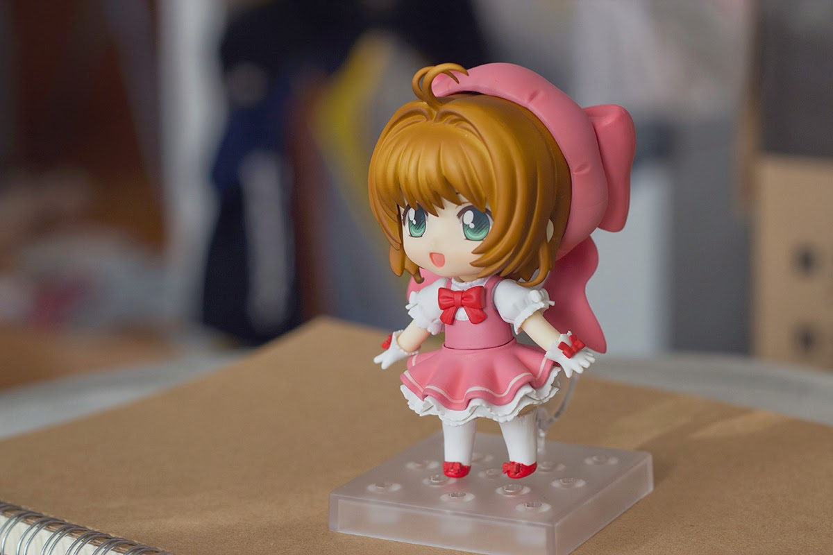 sakura nendoroid happy pose