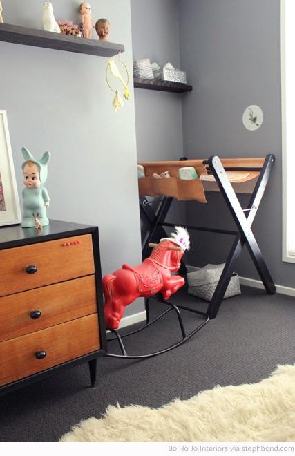 Bondville Bo Ho Jo Interiors Eclectic Girl S Nursery