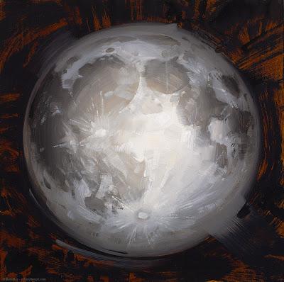 Moon by Rob Rey - robreyfineart.com