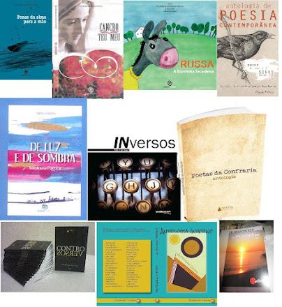 LIVROS PUBLICADOS E PARTICIPAÇÕES EM ANTOLOGIAS DE POESIA
