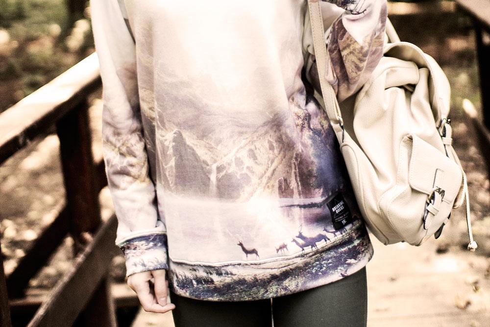 breaking rocks clothing modna bluza legendary landscape