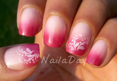 NailaDay: Pink Gradient