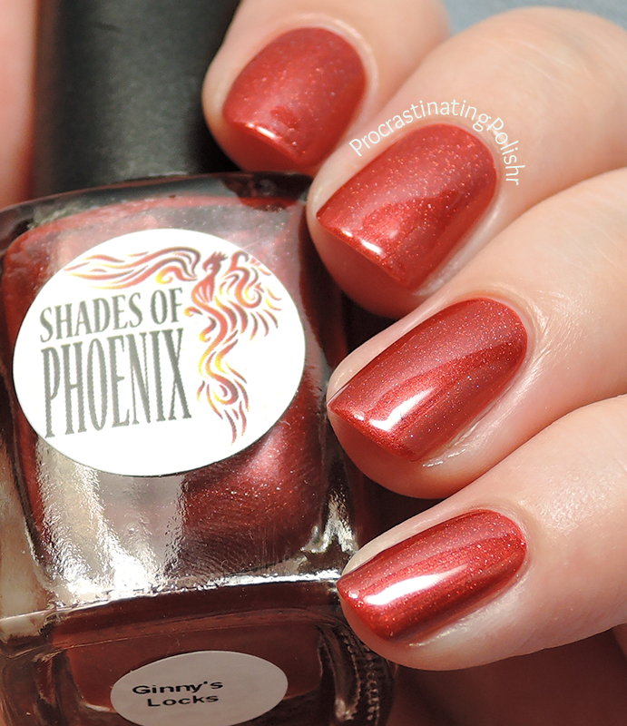 Shades of Phoenix - Ginny's Locks