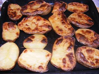 cartofi la cuptor, cartofi copti, retete culinare, retete de mancare, retete cu cartofi, preparate din cartofi, retete diete si cure, retete sanatoase,