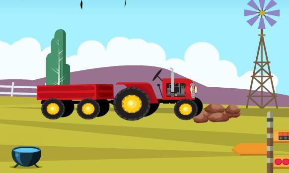 EscapeGamesZone Tractor R…