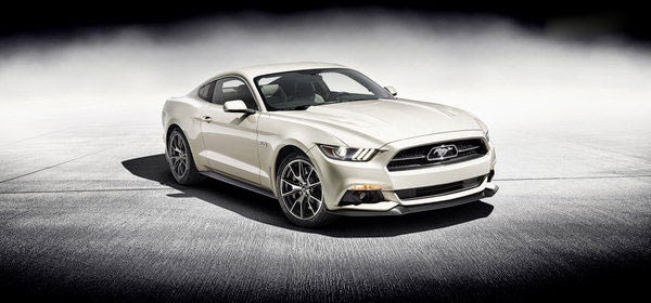 New 2015 Ford Mustang 50th Limited Edition Review