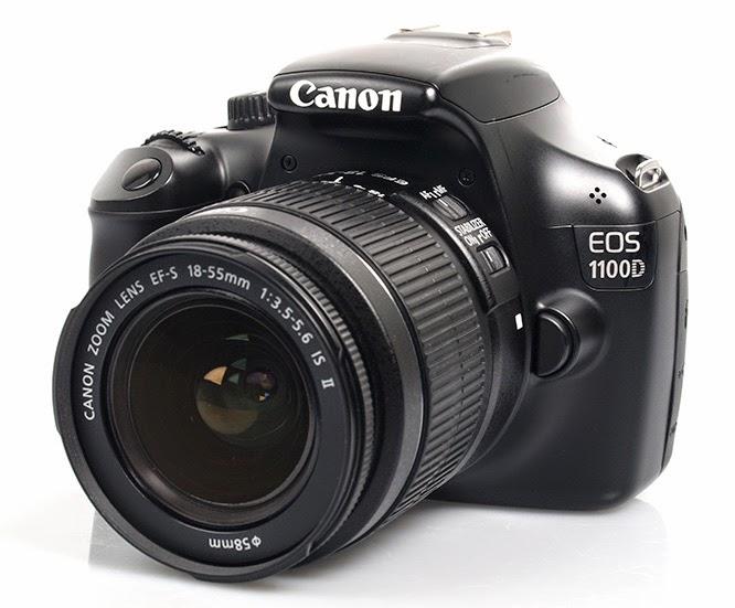 Foto Kamera Canon EOS 1100D DSLR Rebel T3 Spesifikasi Harga 2014