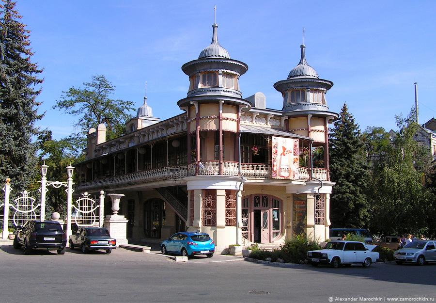 Здание Курортной выставки (бывшая кофейня Гукасова) в Пятигорске