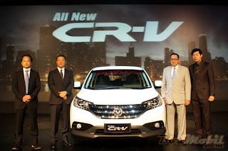 All New Honda CR-V di Indonesia