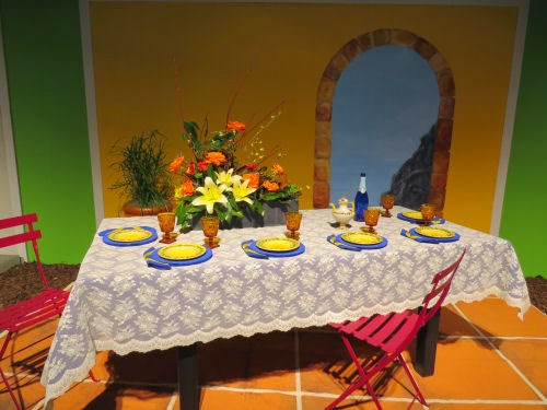 Philadelphia Flower Show 2105- Tables: Enchanted April