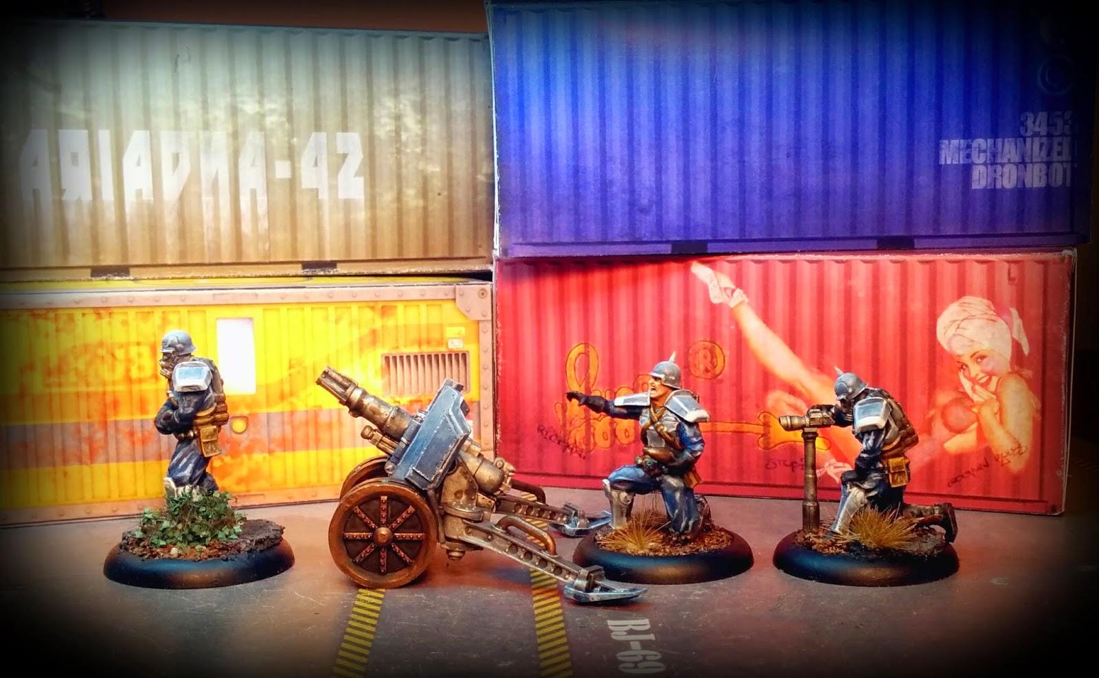 Warzone - Baron Von Jaeger Artillery Korps - Bauhaus - left