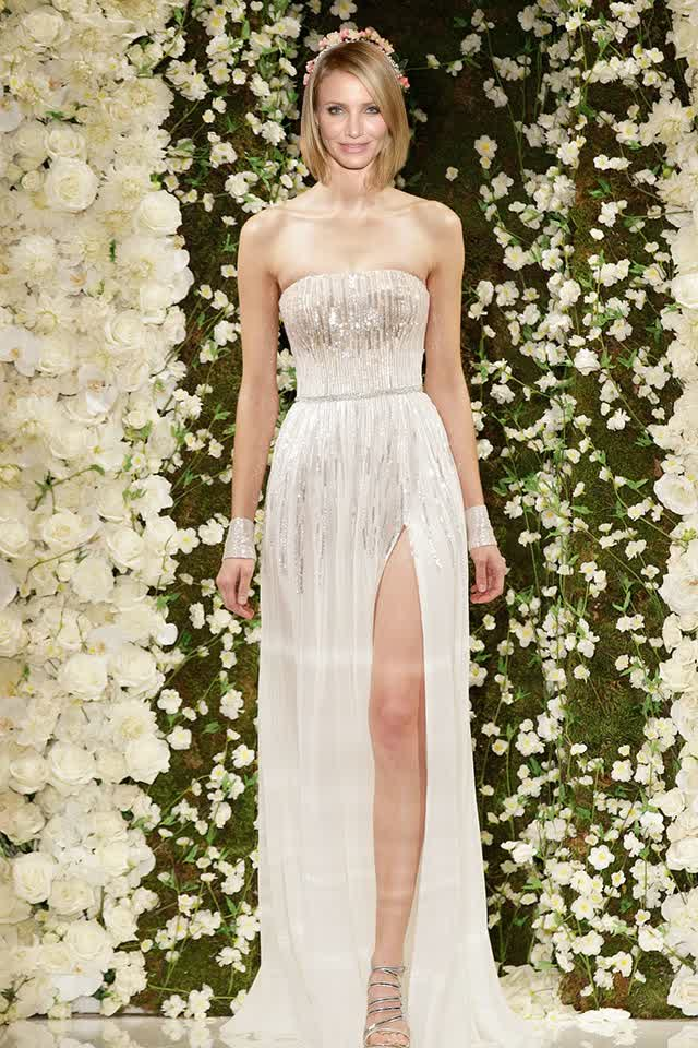 Will This Become Cameron Diaz Wedding Gowns Bridal Trend Ideas