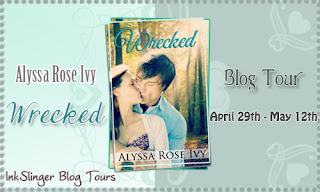 GIVEAWAY and REVIEW: WRECKED by Alyssa Rose Ivy
