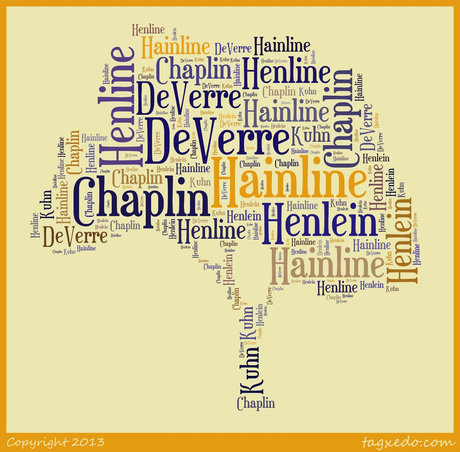 The HAINLINE Name Originated As German HENLEIN This Family Was Located In Area Known Palatinate Or Pfaltz Germany