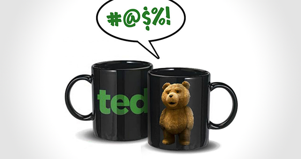 Talking Ted Mug (R Rated)