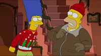 Los Simpsons- Capitulo 09 - Temporada 26 - Audio Latino - No estaré en casa en Navidad