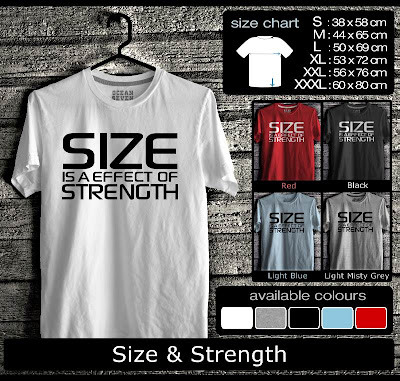 kaos distro size & strength