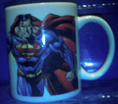 Superman 2006 mug #1 side a