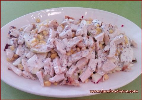 Lambruchona receta ensalada de judias ve - Como preparar unas judias verdes ...