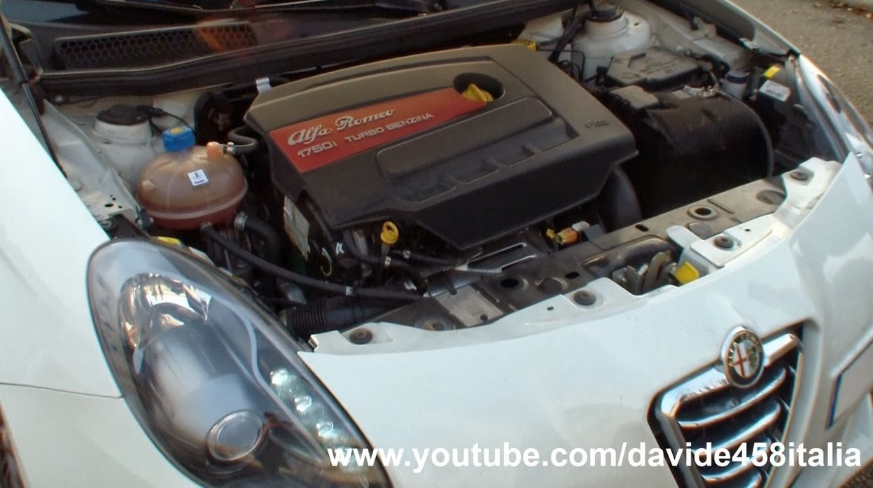 davide458italia   300hp alfa romeo giulietta qv w   tubi style exhaust  revs and accelerations
