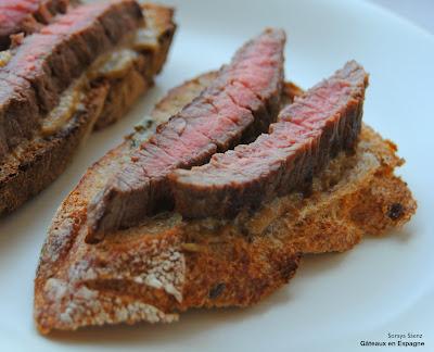 recette tapas espagnoles filet boeuf roquefort