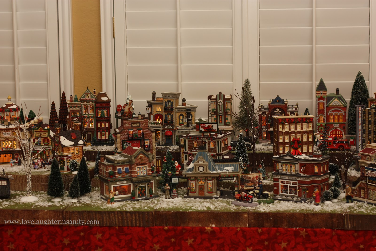 A Christmas Village 2012 Virtual Advent Tour Love