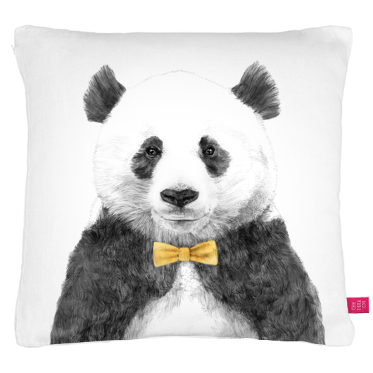avant garde design: quirky animal pillows.