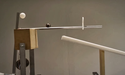 Parte de una máquina de Rube Goldberg