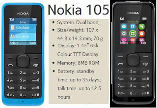 Nokia 105 price in India image