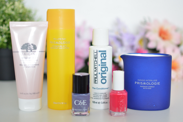 Midweek pamper, Origins, Prismologie, Crabtree & Evely, Paul Mitchell, Essie, Review, Beauty