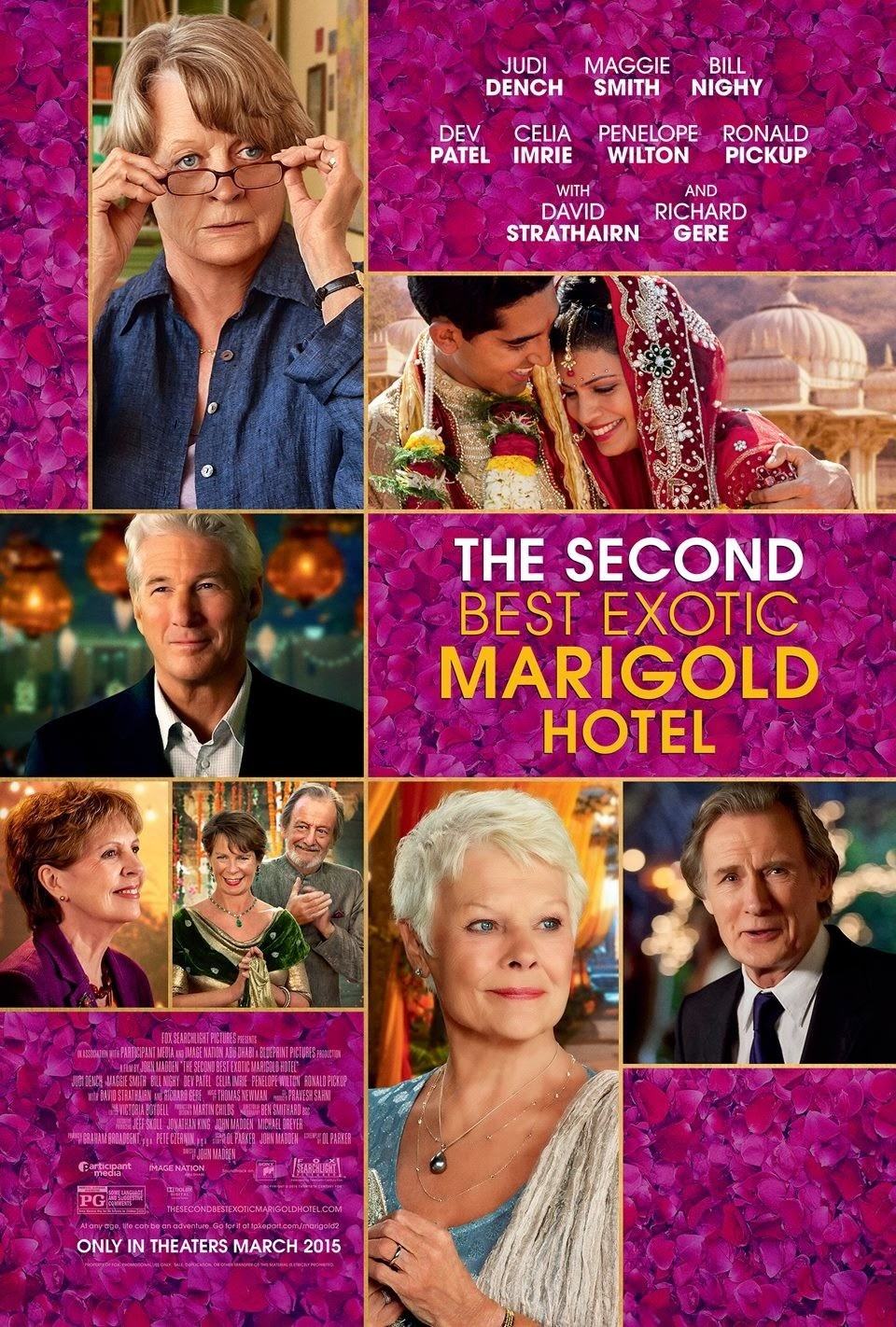 MOVIE REVIEW THE SECOND BEST MARIGOLD HOTEL 2015