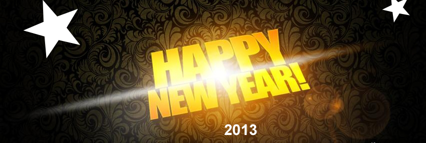 Top 10 Best Happy New Year 2013 Facebook Timeline Covers