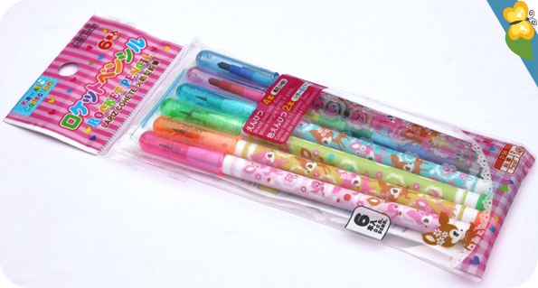 Mes crayons trop kawaii en provenance du japon
