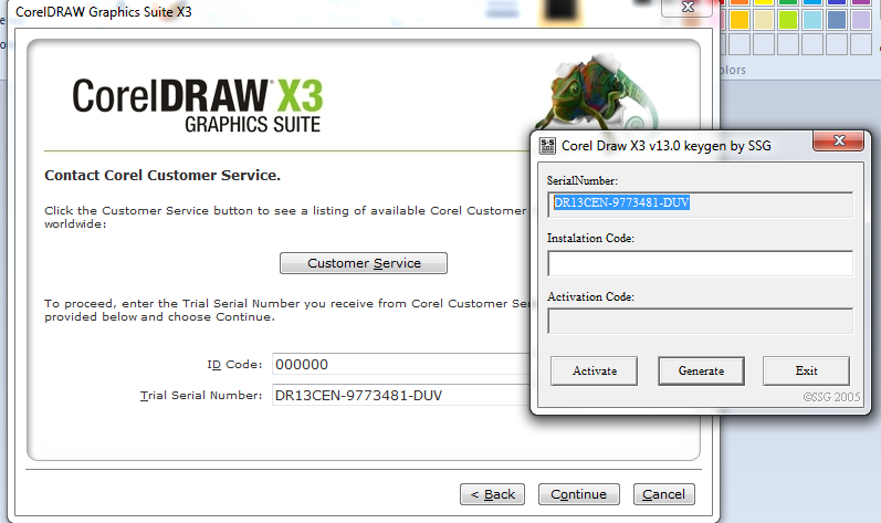 coreldraw x3 graphics suite trial serial number