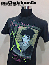 1987 The Cure 50/50 T-Shirt