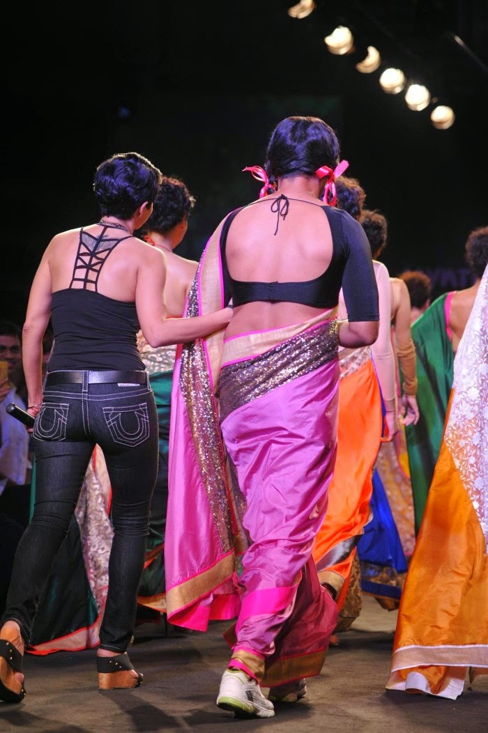 Gutthi and Mandira Bedi at Myntra Fashion Weekend Photo