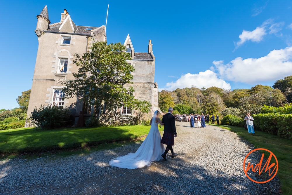 Islay house wedding