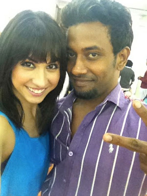 Rare Hot Pic Lauren Gottlieb, Dharmesh Yelande