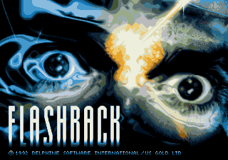 Flashback Amiga title screen