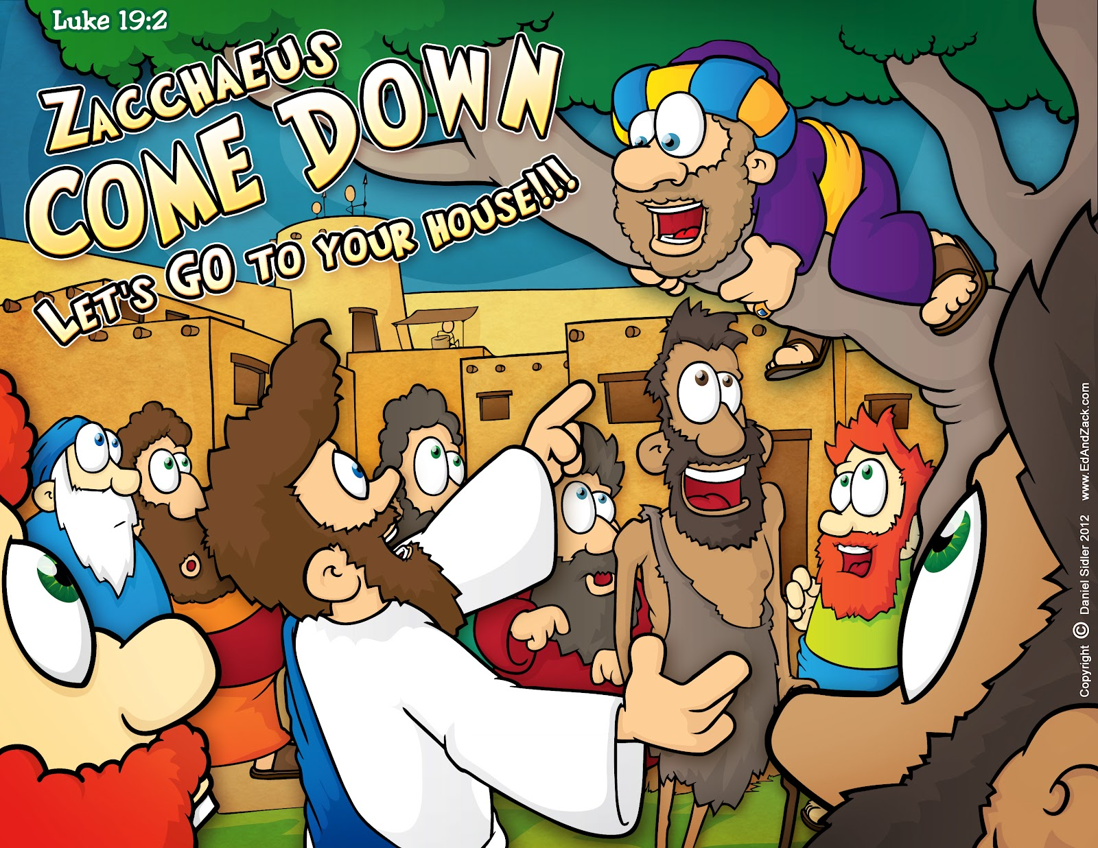 christian cartoon bible story illustrations