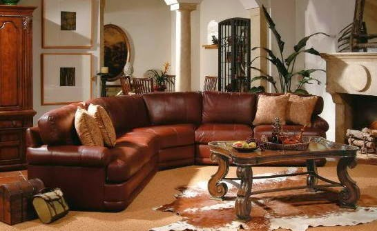 How To Decorate With Brown Leather Sofas (5 Image)